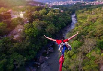 Bungee jumping San Gil