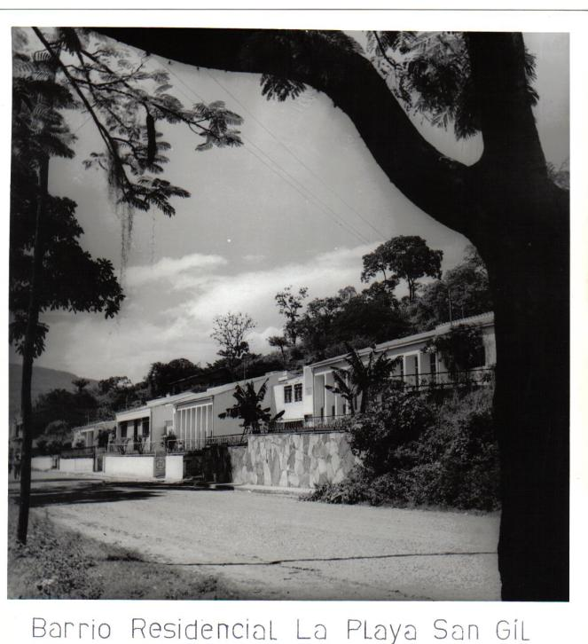 Barrio La Playa décadas 1950-60