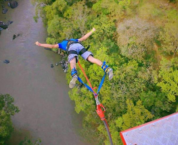 Bungee jumping en San Gil