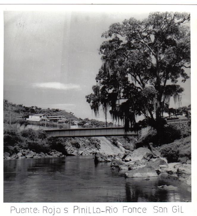 Puente Rojas Pinilla décadas 1950-60