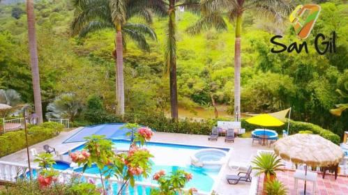 Hoteles campestres en San Gil
